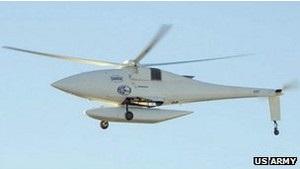 Армия США представила беспилотный вертолет-шпион