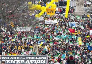 В Вашингтоне протестуют против абортов