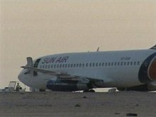 Двое пиратов, захватиших Boeing в Судане, сдались властям