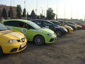 12 июня на автодроме Чайка состоялось 8 любительское ралли