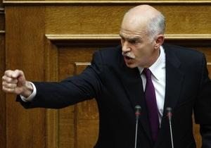 Греческий парламент одобрил закон, позволяющий получить 110 млрд евро помощи