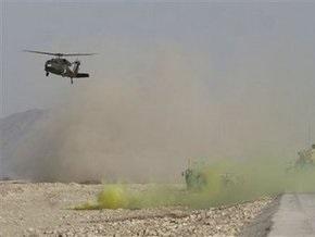 В Афганистане талибы сбили вертолет США
