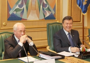 Янукович подписал указ о назначении Азарова премьером