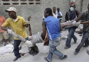 Красный Крест: В результате землетрясения на Гаити погибли не менее 45 тысяч человек