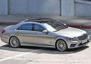 Появились фотографии нового Mercedes-Benz S-Class