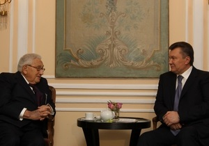 Киссинджер: Я всегда выступал против вступления Украины в НАТО