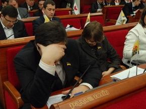Заседание Киевсовета закрыто. Мину в здании так и не нашли