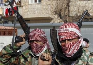 Сирийская армия нанесла авиаудары по позициям повстанцев в местах возможного применения химоружия