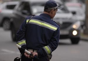 В Одессе водитель пытался отбиться от сотрудников ГАИ двумя ножами