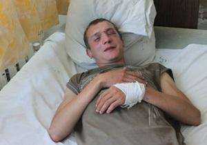 новости Киева - Активист Гостиного двора рассказал, как и за что его избили