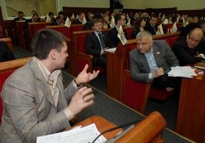 Довгий назначил дату заседания Киевсовета