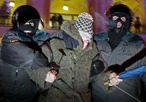В Петербурге задержали толпу гастарбайтеров с палками и кольями
