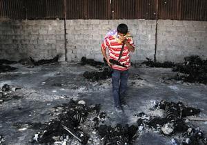 После осады родной город Каддафи оказался в руинах