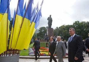От Эфиопии до Коморских островов. Лидеры 35 стран поздравили Януковича с Днем Независимости