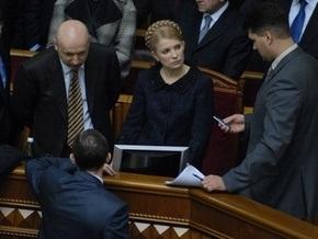 Раскол в БЮТ: фракция собирается на заседание