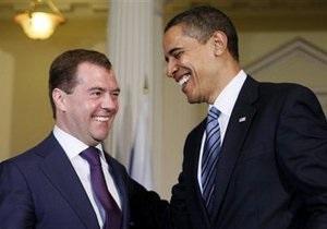 Обама с нетерпением ждет встречи с Медведевым