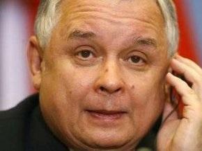 Качиньский констатирует отсутствие в Украине проблем с демократией