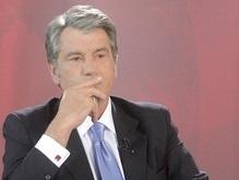 В ПР призывают Ющенко  окунуть ручку в чернила