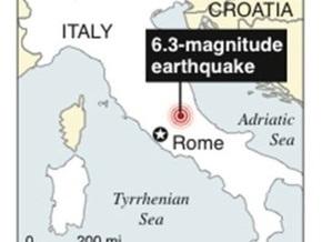 СМИ: Десятки людей стали жертвами землетрясения в Италии