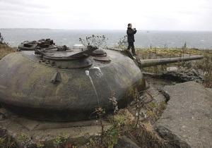 На Курилах найден тайник с боеприпасами времен Второй мировой войны