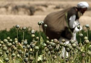 Доклад ООН: Афганистан остается доминирующим поставщиком героина в мире