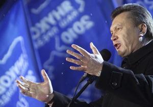Янукович пообещал  лженаблюдателям  на выборах показать донецкий нрав
