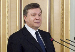 Янукович подписал закон о допуске иностранных войск в Украину