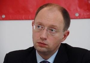 Яценюк рассказал, сколько заработал за 2010 год