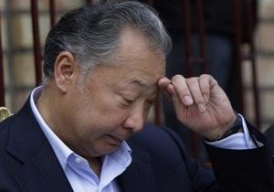 В Кыргызстане начинается заочный суд над Бакиевым