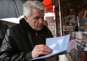 Литвин хочет написать книгу о политических процессах в Украине