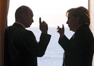 Меркель и Лукашенко поздравили Путина с победой на выборах