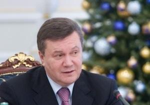 В Киеве перекрыли улицу Банковую в связи с записью новогоднего обращения Януковича