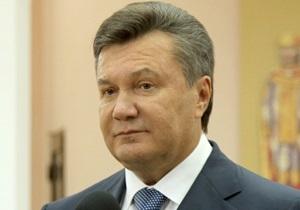 Янукович: Вопрос объединения Нафтогаза и Газпрома не рассматривается