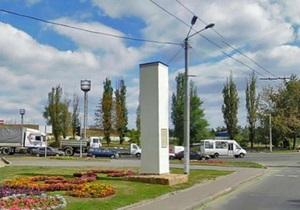 В Харькове снесли обелиск в честь воссоединения Украины с Россией