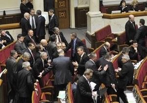 В НУ-НС не готовы голосовать за отставку Тимошенко. Блок Литвина еще не определился