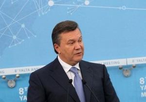 Янукович о реакции на приговор Тимошенко: В другой стране никто бы рта не открыл