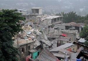 Экипажи украинских вертолетов помогают разрушенному Гаити