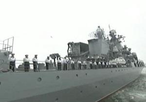 Россия и Китай проводят совместные военно-морские учения в Японском море