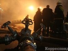 В Киеве горит рынок Вырлица