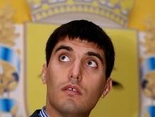 Секретарю Донецкого горсовета в Киеве вручили говяжий язык