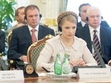 В Киеве проходит встреча Тимошенко и генсека НАТО