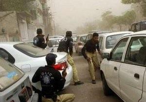 Власти Пакистана задержали подозреваемых в причастности к терактам в Лахоре
