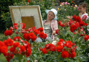 Фотогалерея: Вальс цветов. День в киевском розарии