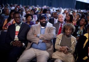Соперника Обамы по выборам освистали на встрече с афроамериканцами