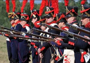 В России потерялись приехавшие посмотреть на реконструкцию битвы под Бородино французы