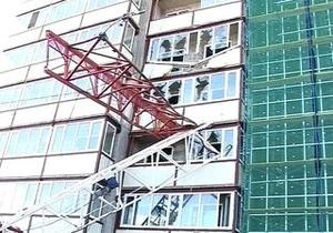 Жертвами обрушения строительного крана в России стали 3 человека