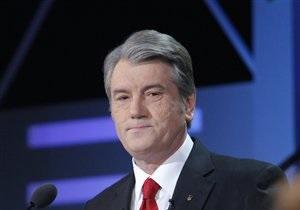 Ющенко: Украинский язык веками подвергался преследованиям