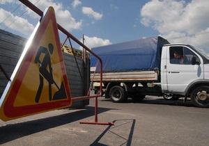 На Подоле ограничат движение транспорта