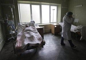 Число жертв эпидемии гриппа в Украине превысило тысячу человек