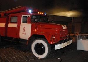 новости Киева - пожар - автомобили - В субботу в Киеве горели два автомобиля